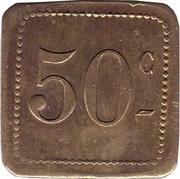 50 Centimes - UDC – obverse