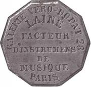 Token - Laine Facteur (Paris) – reverse