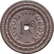 10 Centimes - Autom ques oudin – obverse
