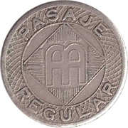 Token - Pasaje Regular – reverse