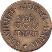 Lucky Token - Radenska 1964 – reverse