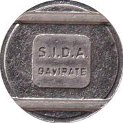 Token - SIDA (Gavirate) – reverse