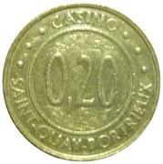 20 Centimes - Casino Saint-Quay-Portrieux – reverse