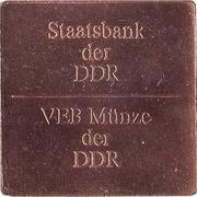 Medallie VEB Munze der DDR – obverse