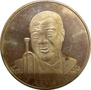 Louis Armstrong (New Orleans Jazzfest) – obverse
