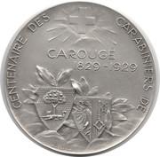 Token - Centenaire des Carabiniers de Carouge – obverse