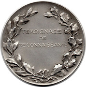 Token - Centenaire des Carabiniers de Carouge – reverse
