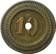 10 Centimes - Mariotte – reverse