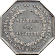Jeton de la Chambre des Notaires d'Eure et Loir – reverse