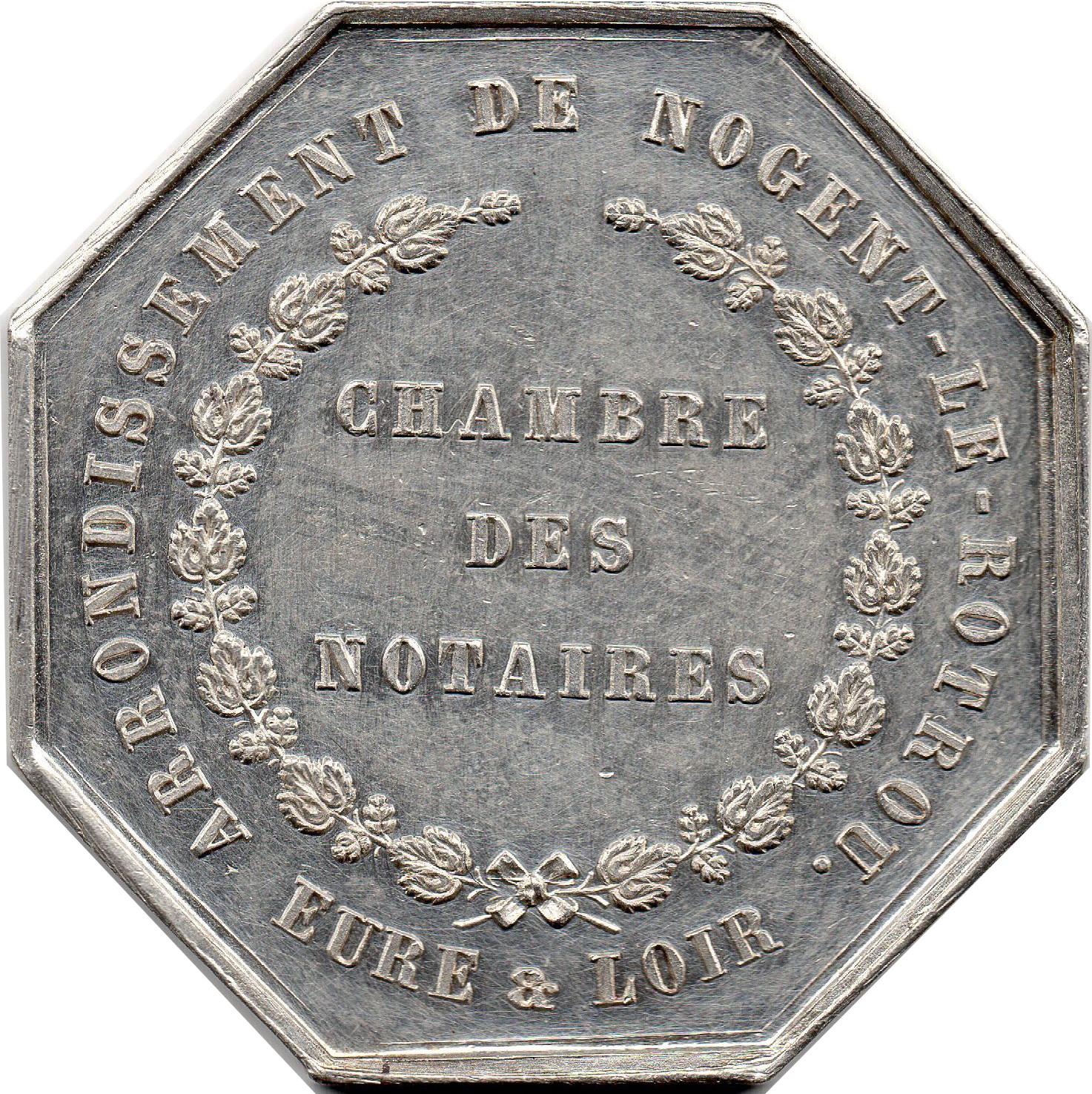 Jeton de la chambre des notaires d 39 eure et loir tokens numista - Chambres des notaires 49 ...