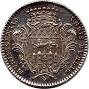 Récompense de la ville de Bordeaux - Louis XV – reverse