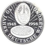 Token - 50 Jahre Deutsche Wahrung – obverse