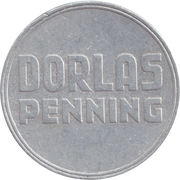 Dorlas penning – reverse