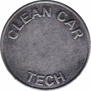 Car Wash Token - Clean Car Tech – reverse