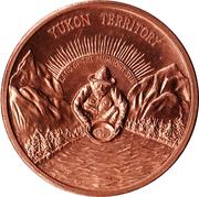 Medallion - Yukon Territory (Canadian Centennial) – obverse