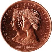Medallion - Yukon Territory (Canadian Centennial) – reverse
