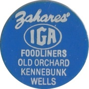 10 Cents - Food Stamp Credit (Zahares' IGA) – obverse