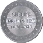 Token - Shell's Mr. President Coin Game (William McKinley) -  reverse