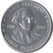 Token - Shell's Mr. President Coin Game (George Washington) – obverse