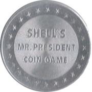 Token - Shell's Mr. President Coin Game (George Washington) – reverse
