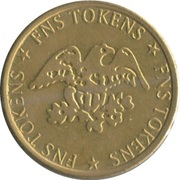 Token - FNS (No Cash Value) – obverse