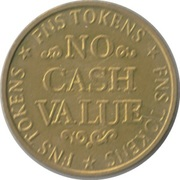 Token - FNS (No Cash Value) – reverse