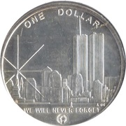 1 Dollar - Freedom Tower – obverse