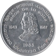 140th Anniversary of New Orleans – obverse