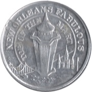 140th Anniversary of New Orleans – reverse