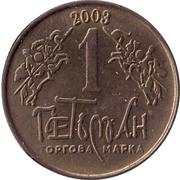 1 Hetman (Zaporozhye) – obverse