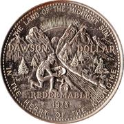 Dawson Dollar - Dawson City, Yukon – reverse