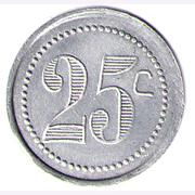 25 CENTIMES TRAMWAYS DE ST QUENTIN – reverse