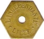 1,5 Jeton L'indépendante Lille [59] – obverse