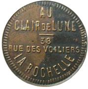 Token - Au clair de lune Chez Mme Anna (La Rochelle) – obverse
