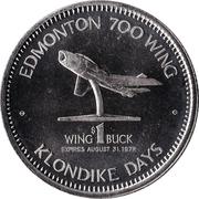 Wing Buck - Edmonton, Alberta – reverse