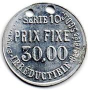 30.00 Prix Fixe - Parapluie Revel – reverse