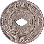 1 Fare - Portland Traction Co. (Portland, OR) -  reverse