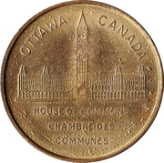 Shell Oil Token - Prime Ministers of Canada (1948 - Louis St-Laurent) – reverse