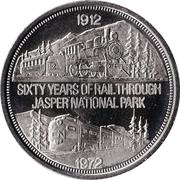 Souvenir Dollar - Jasper, Alberta – obverse