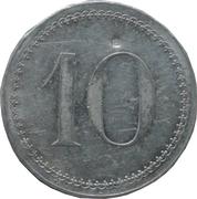 10 Centimes - Nouvelles galeries (Saintes) – reverse