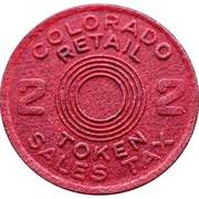 2 Mills - Retail Token (Colorado) – obverse