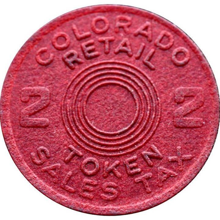 Colorado Mills: 2 Mills (Retail Token)