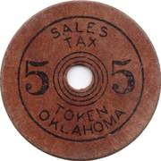 5 Mills - Old Age Assistance (Oklahoma) – obverse