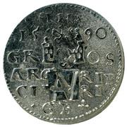 Aboa Vetus (handmade silver replica coin) – reverse