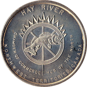 2 Dollars - Hay River, North-West Territories – obverse