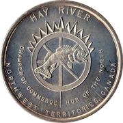 2 Dollars - Hay River, North-West Territories – obverse