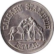 Stampede Dollar - Calgary, Alberta – obverse