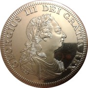 5 Shillings (George III Medallic / INA Retro Issue) – obverse