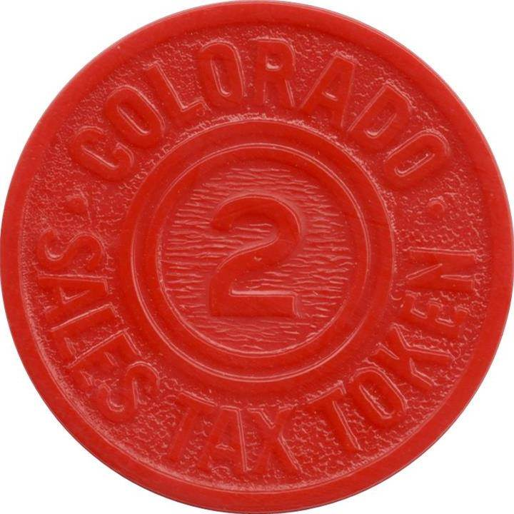 Sales Tax Token (Colorado)
