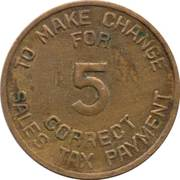 5 Mills - Sales Tax Payment (Arizona) – reverse
